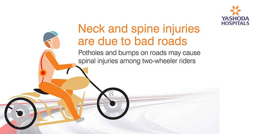 Back Pain Due To Bike Riding How Potholes And Bumps On Roads May